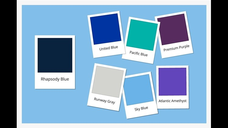 United Airlines is adding a set of new hues to its color palette, an update to its branding that will soon be seen on new employee uniforms.