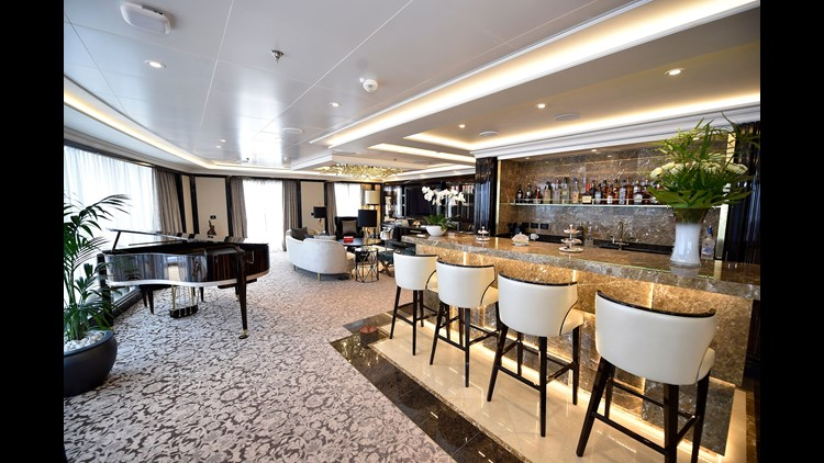 10 cruise ship suites that will blow your mind