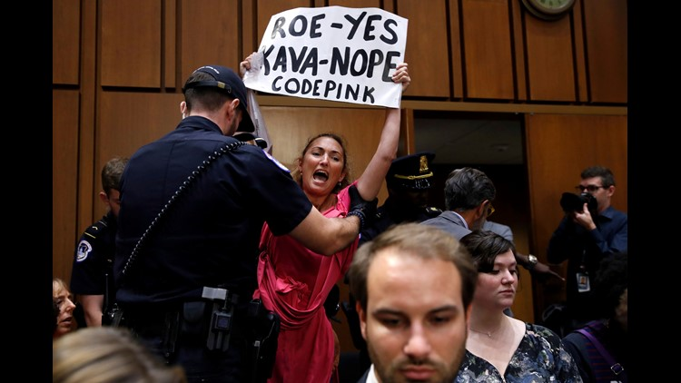 Capitol Police arrest 70 on first day of Kavanaugh hearings