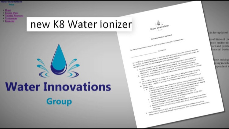 Water Innovations Group was created at the same time Watertek was suspending it program.