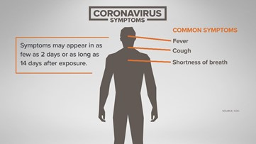 Here are the common symptoms of coronavirus