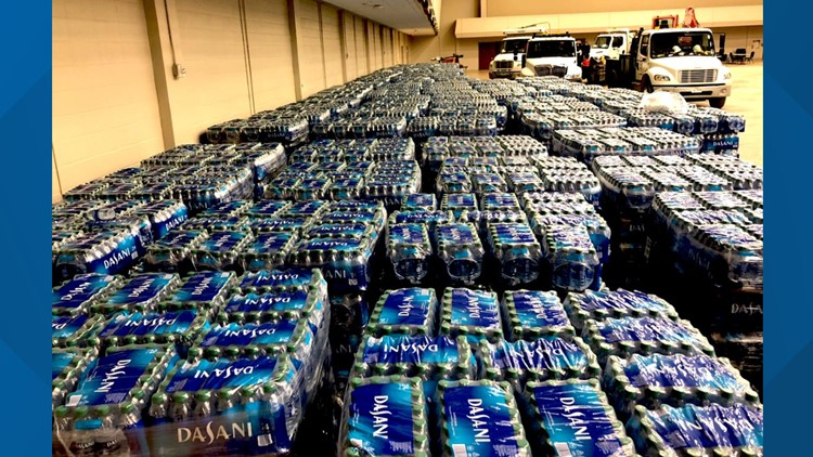 Coca-Cola donates six 18-wheelers full of bottled water to Texas city