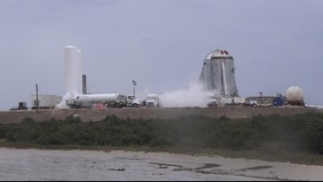 SpaceX begins testing Starship Hopper prototype at South Texas site