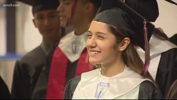 High school grad defies the odds: 'I wasn't going to be what the statistics said'