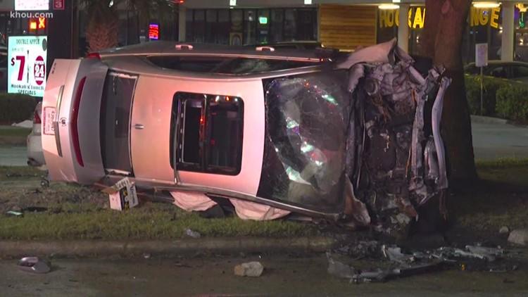 Dangerous weekend on Houston-area roadways keep officers busy