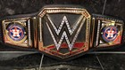 WWE is giving the Astros a custom championship belt