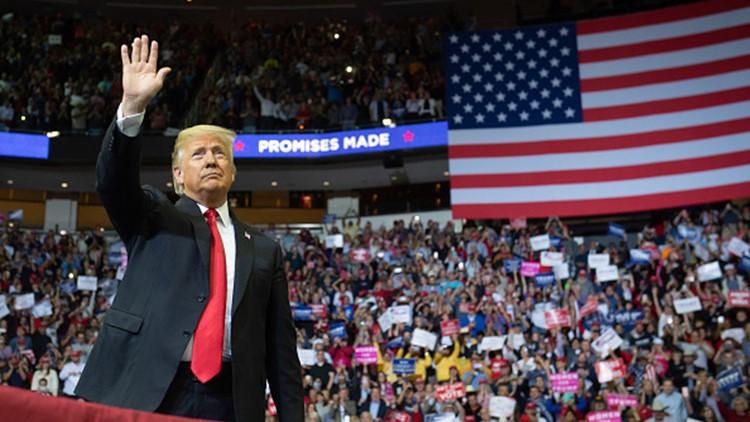 LIVE BLOG: Trump revs up large crowd at Toyota Center