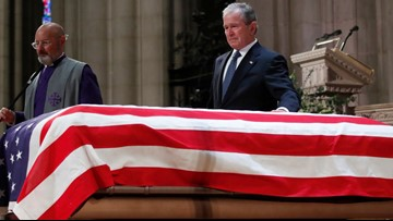 READ AND WATCH: George W. Bush's touching eulogy
