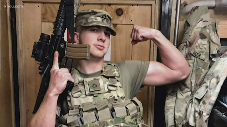 Soldier surprised after coming home from first combat deployment