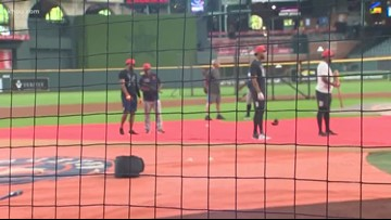 Astros extend protective netting at Minute Maid Park