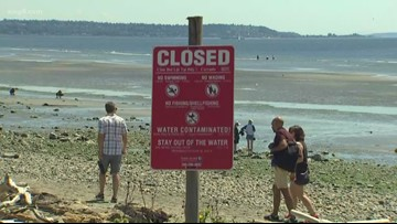 Three million gallon sewage spill closes West Coast beach