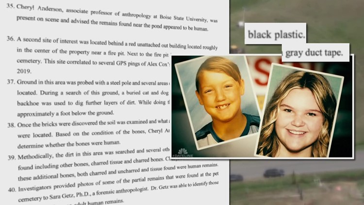 New court documents reveal what led to the discovery of JJ Vallow, Tylee Ryan