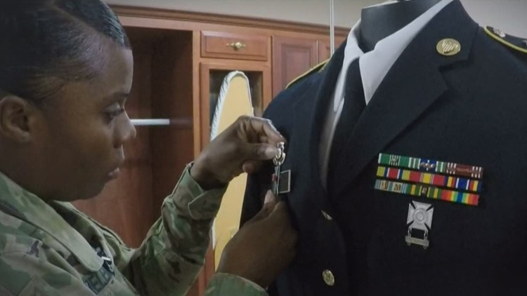 The last uniform: How fallen soldiers are put to rest honorably