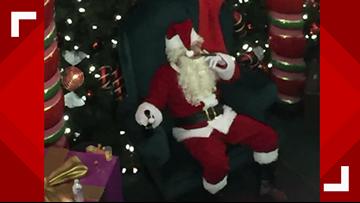 'Bad Santa' at Washington mall sparks online backlash