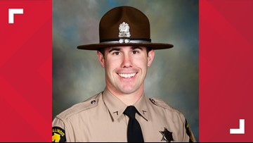 Illinois State Police trooper Nick Hopkins dies after being shot in East St. Louis; 3 in custody