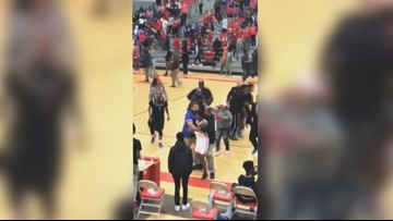 High school basketball game in Alton turns into brawl involving players, adults