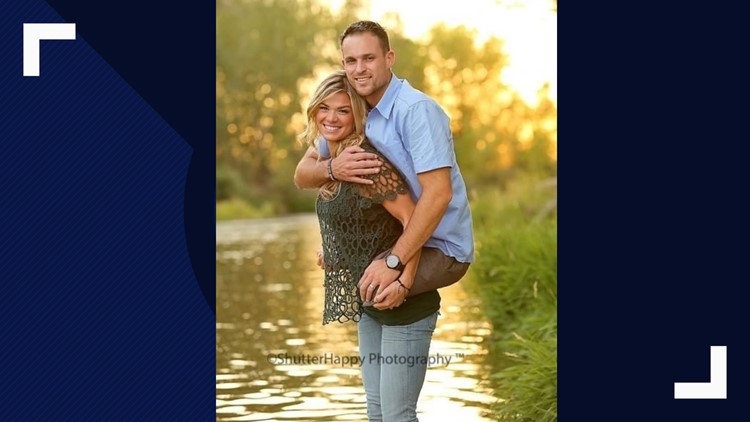 Photo of Marine and his wife goes viral: 'America just fell in love'