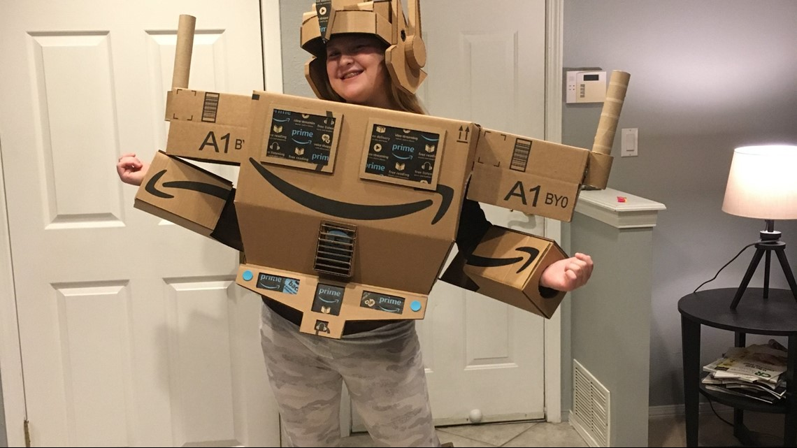 Amazon Prime Halloween Costumes.Amazon Makes Prime Costume Come To Life For Girl With Autism