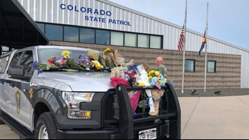'Our trooper lost his life today:' Colorado State Patrol trooper hit while investigating another crash