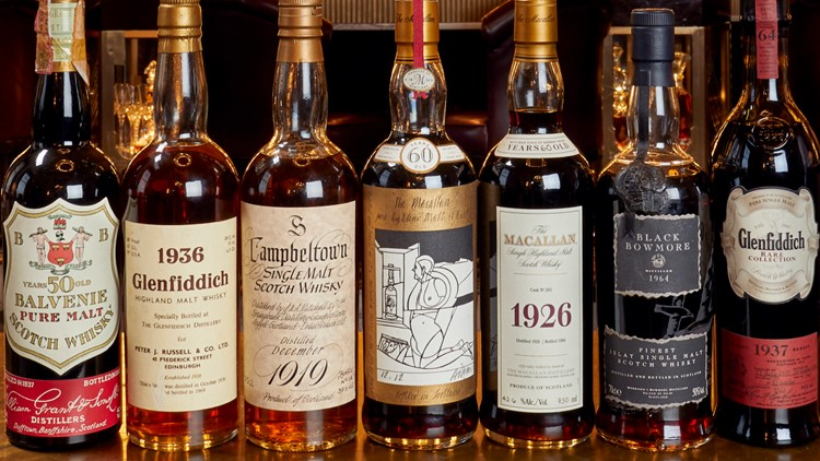 Mr. Richard Gooding Whisky Auctioneer WORLD'S LARGEST PRIVATE WHISKY COLLECTION TO GO TO AUCTION UNVEILED