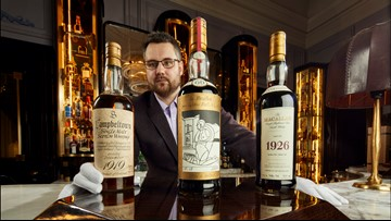 World's largest whiskey collection with over 3,900 bottles heads to auction