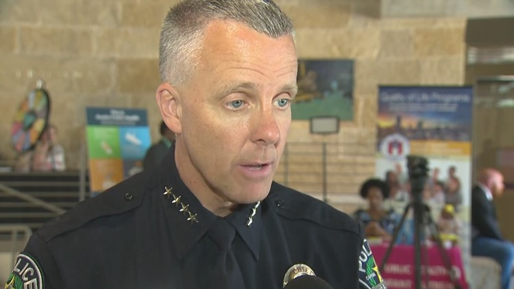 APD's Brian Manley discuses statements on Austin bombing suspect