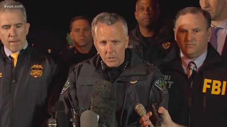 Austin PD Chief Manley confirms death of bombing suspect