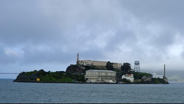 Archaeologists find hidden tunnels below Alcatraz prison, find buried structures and ammunition magazines