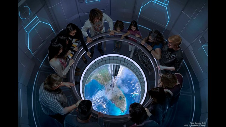 Space 220. (Image courtesy of Disney Parks.)