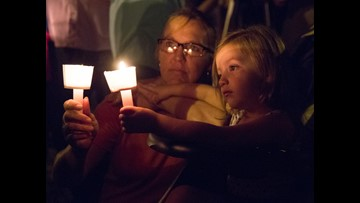 Texas shooting: A community in mourning