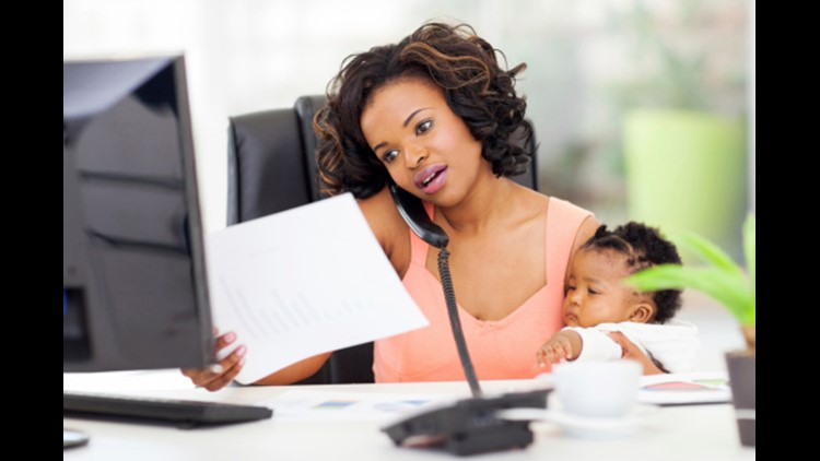 """""""I don't think it matters if I work or not; I think the lesson is that as mothers, our real job is to stay flexible, and just keep going."""""""