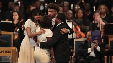 'DearGrandma, I love you:' Aretha Franklin's family gives heartfelt tribute at funeral