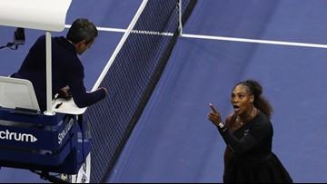 Serena Williams fined $17,000 for violations during the US Open final