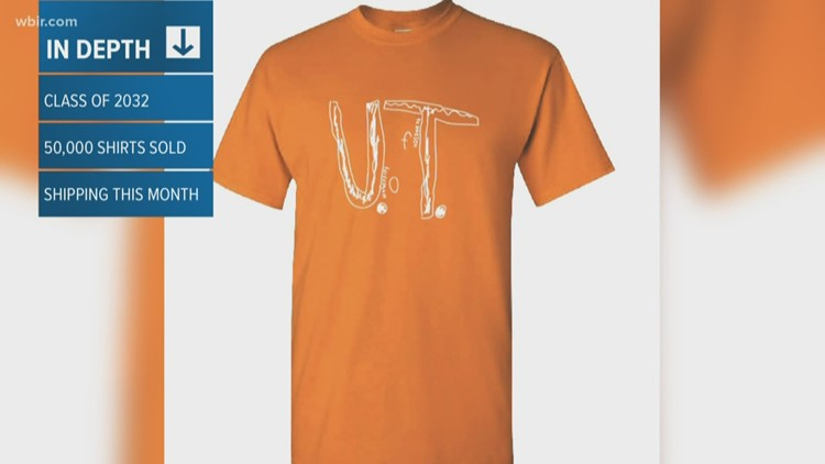 UTK offers young Vol fan bullied for making own T-shirt admission, scholarship