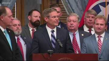 Tennessee Gov. Lee announces legislation banning abortions if heartbeat is detected