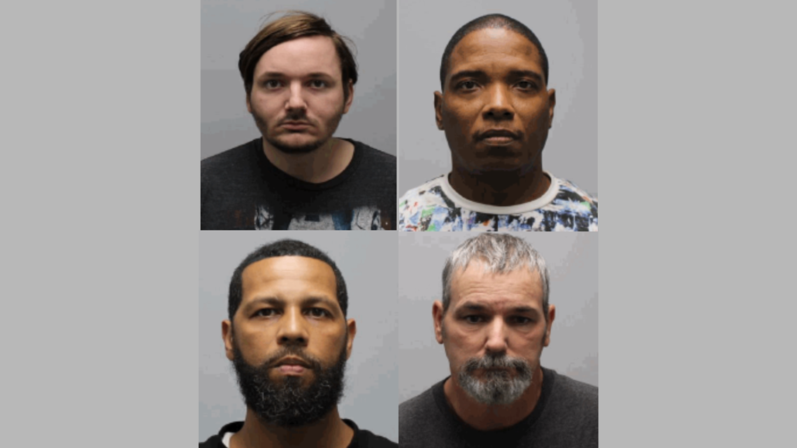 Two from Georgia among 4 arrested in Tenn. human trafficking sting