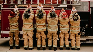 Oh baby! Fire Department welcomes six newborns