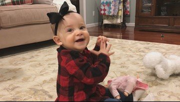 She was born a year ago after 24 years as a frozen embryo. See how Emma is doing now!