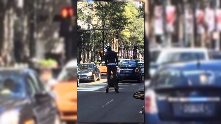 Cam Newton spotted riding scooter without helmet
