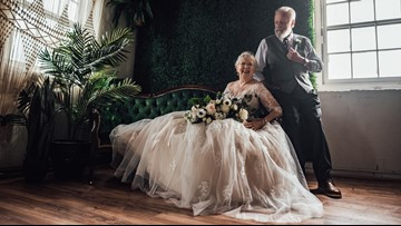 SC grandparents stun the internet in 60th anniversary photo shoot