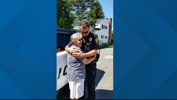 93-year-old Mainer who loves the show Cops gets 'arrested' for her birthday