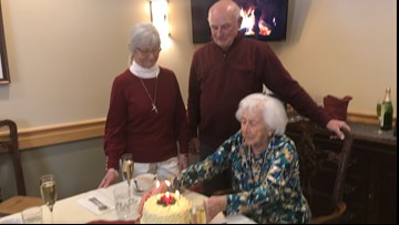 80-year-old twins celebrate birthday with 103-year-old mother