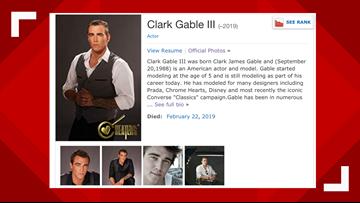 Clark Gable's grandson, 30, host of 'Cheaters,' found dead in Dallas