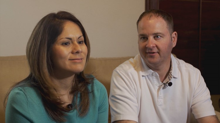Ruby Roman (left) and Will Davis (right)