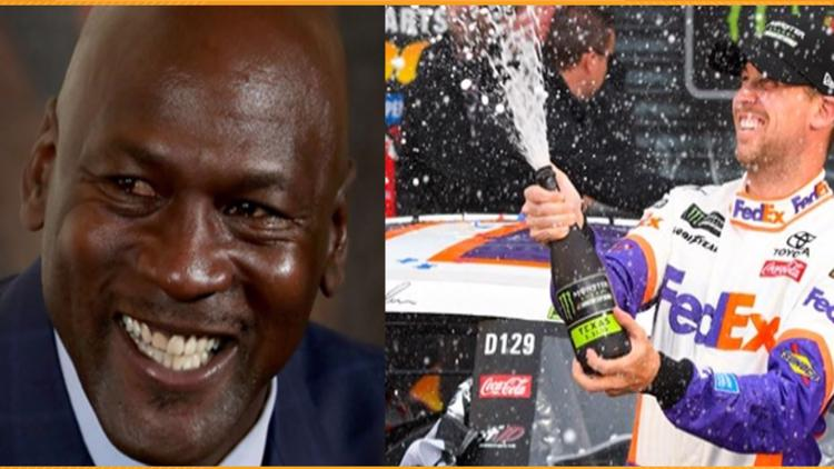 Michael Jordan, Denny Hamlin to form NASCAR Cup Series Team