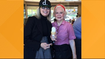 Actress Diane Keaton Makes Surprise Stop at a Chick-Fil-A in Greensboro