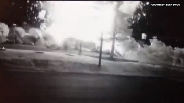 VIDEO: See the moment an explosion obliterated a KFC