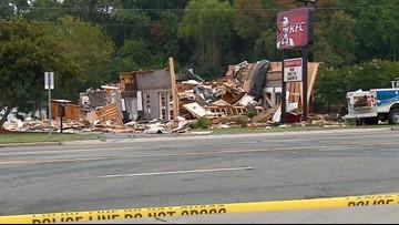KFC restaurant in N.C. leveled after explosion