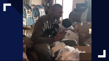 Family's teddy bear gift makes dad cry when he hears mother's last voicemail