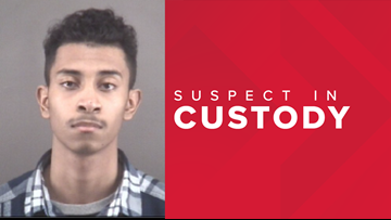 18-year-old arrested for shooting near the entrance of Forever 21 at Hanes Mall